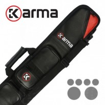 Predator Cue Blak 4-3 - Karma Bara 2x4 Black and Red Cue Case