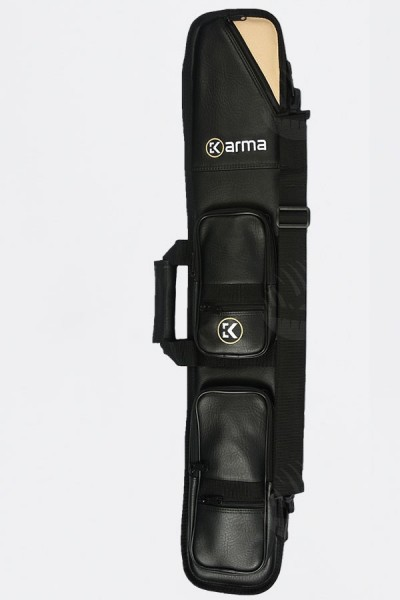 Karma Bara 4x8 Black and Beige Cue Case