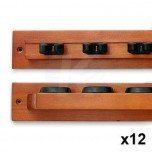 Z2 cue holder x 6 with Score Counter - Z2 cue holder x 12