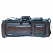 Predator Roadline Blue 4x8 Cue Case - Mezz MZ-35T Brown Pool Cue Case