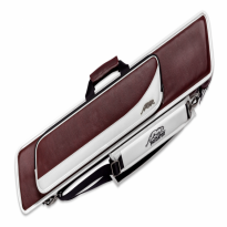 Catalogue de produits - Predator Roadline Bur/White 4x8 Cue Case