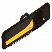 Longoni Giotto Autumn 4x8 soft cue case - Predator Sport 3x4 Yellow Soft Case