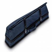 Longoni Giotto Autumn 4x8 soft cue case - Predator Urbain 2x4 Blue Soft Cue Case