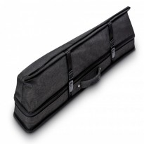 Mozart Superior 2/4 Case Dark Brown - Predator Urbain 2x4 Grey Hard Cue Case