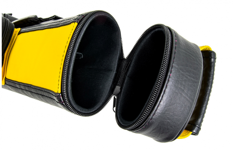 Royal RO3-1 2/2 Black and Yellow Cue Case