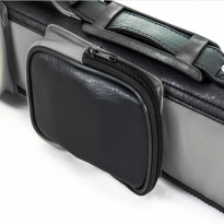 Royal RO3-2 2/2 Grey and Black Cue Case