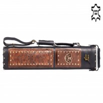 Featured Articles - Tortuga TT5 2x4 Brown Cue Case