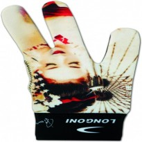 Cue accessories / Gloves / Longoni - Longoni Renzline Hot Lips 1 Billiard Glove
