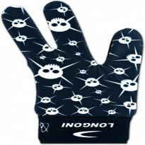 Cue accessories / Gloves / Longoni - Longoni Renzline Glove Skulls Design