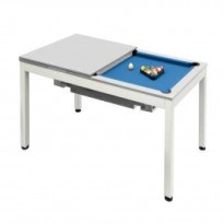 Billiard Tables - Billiard Pool Table Dynamic Vancouver 7 Ft  Grey
