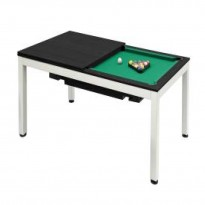 Billiard Pool Table Dynamic Vancouver 7 Ft  Black