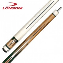 Carom cues / Carom Cues by Brand / Longoni / Signature - Longoni Galaxy White Signature Billiard Cue