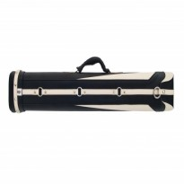 Cases / Cases by brand / Classic - Classic Fortuna 2x4 Black and White Cue Case